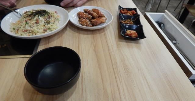 Koreanisches Essen in Singapur