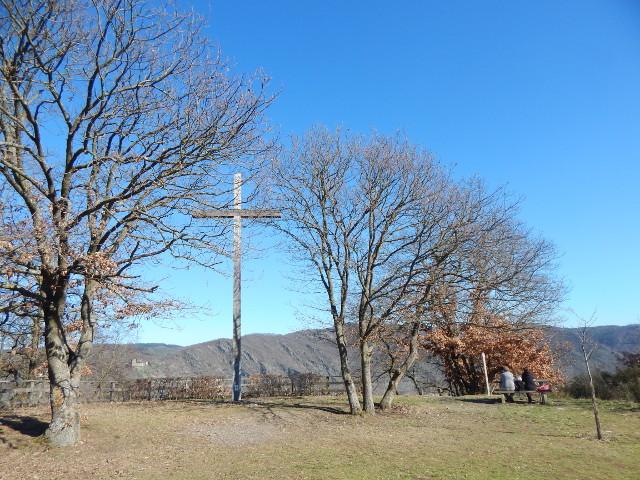 Das Friedenskreuz auf dem Eisenbolz bei Boppard Rundwanderung