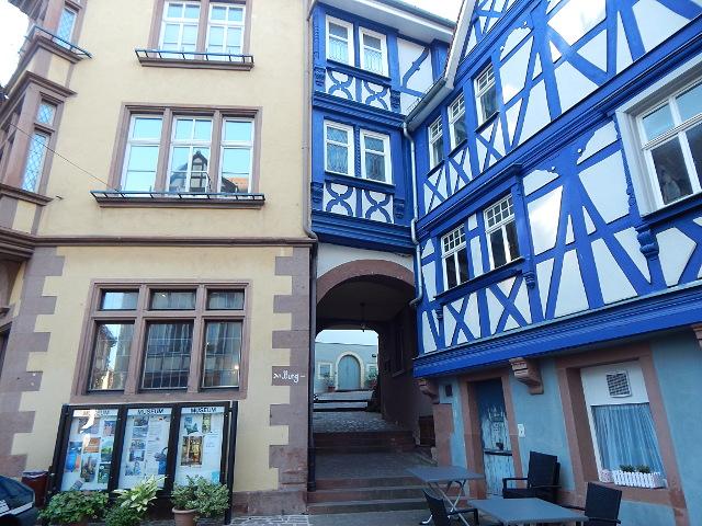 Das Blaue Haus in Wertheim