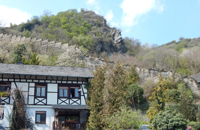 Die Stadtmauer von Bacharach