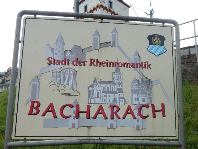 Bacharach, die Stadt der Rheimromantik