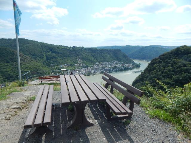 Ein idealer Platz für ein Picknick bei Boppard-Weiler