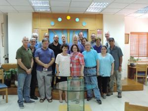 CCAR trip visits Reform Kehillat Yotzma in Modi'in.