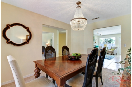 dining rooms are for entertaining friends and family
