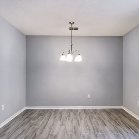 Staging a vacant home showcases the utility of each and every space