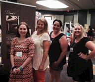 With Hilary Wynne and fellow Wynners at Book Obsessed Babes 2015