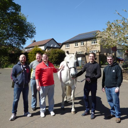 Volunteers from Lloyds Bank