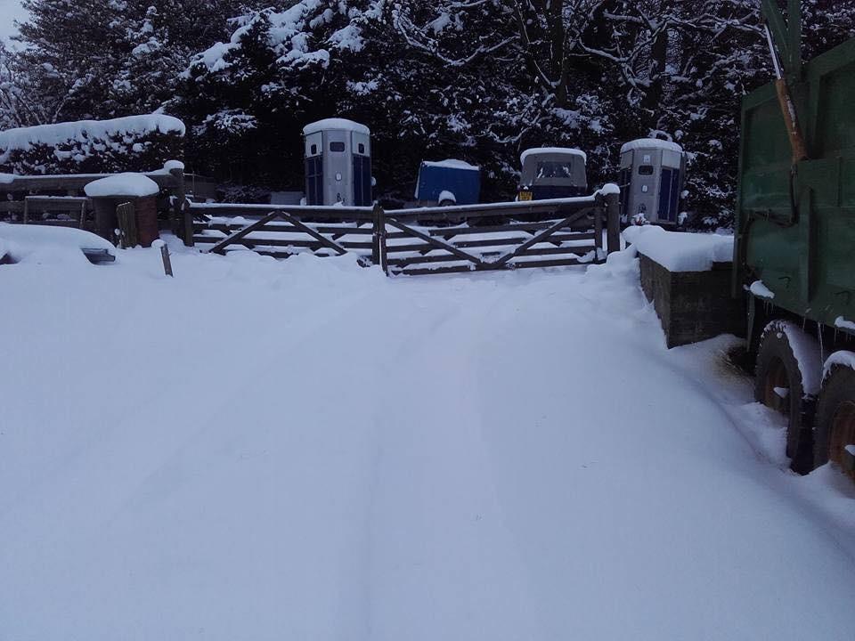 Snow at Ravelrig