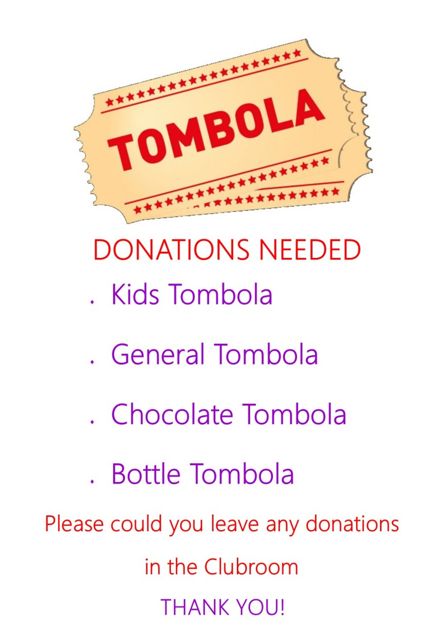 It's our Tombola