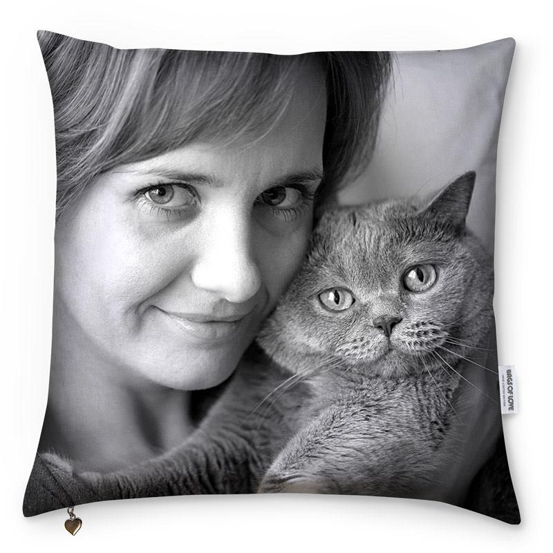 Cuscini personalizzati con Foto e Scritte  Garanzia 5 anni