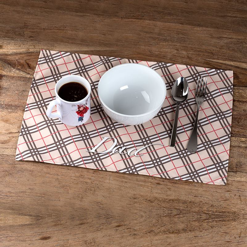 fabric placemats personalised placemat