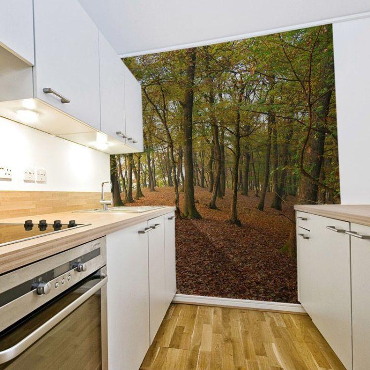 Kitchen Wallpaper Custom Kitchen Wallpaper Photo