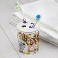 Personalised Toothbrush Holder: Print Your Names & Photos