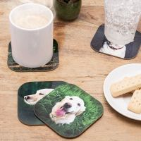 Photo Coasters. Design Your Own Coasters UK for Custom Gift