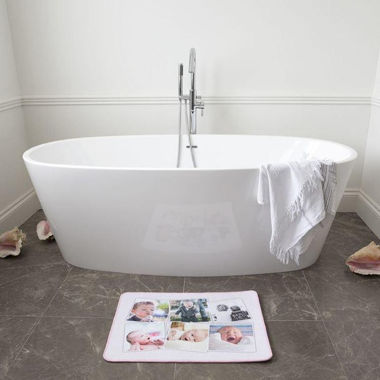 tapis de bain personnalise