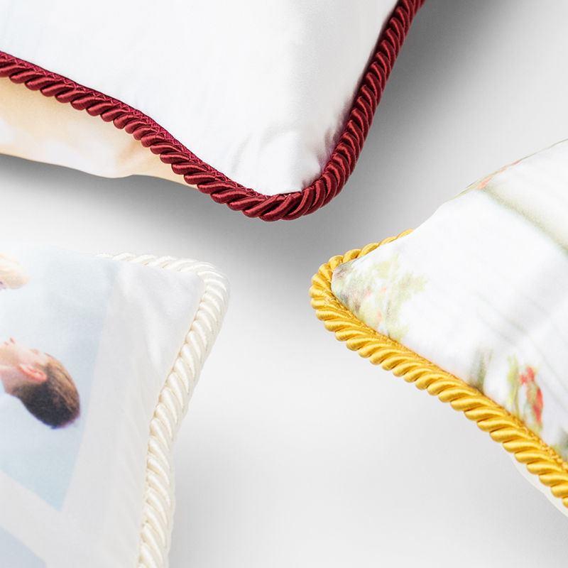 Cuscini in Seta Personalizzati Cuscini con Foto 40x40