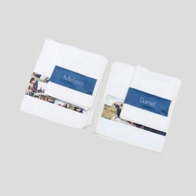 Gepersonaliseerde Badhanddoek foto handdoeken