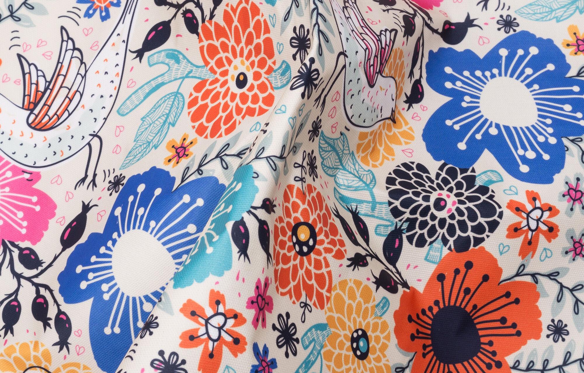 custom printed curtain fabric uk
