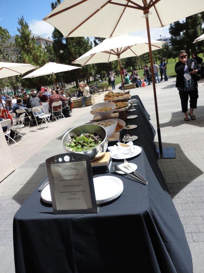 Comiendo en la #WCSF - Viernes - 4241