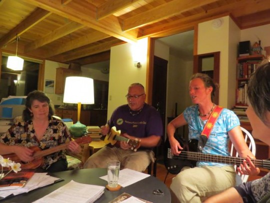 Playing Music With Sheila, Nick, & Susie