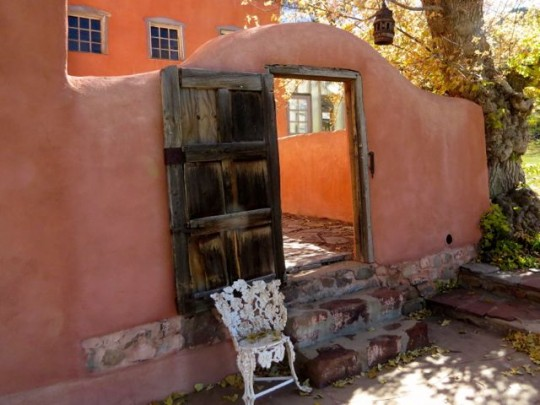 Courtyard Randall Davey Home