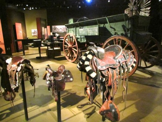 Fancy Saddles At The Cowboy Exhibit