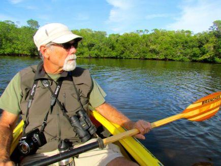 Kayaking the refuge