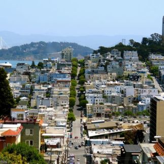 The view from Russian Hill