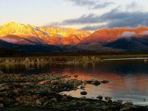 Sunrise at Mono Lake, California
