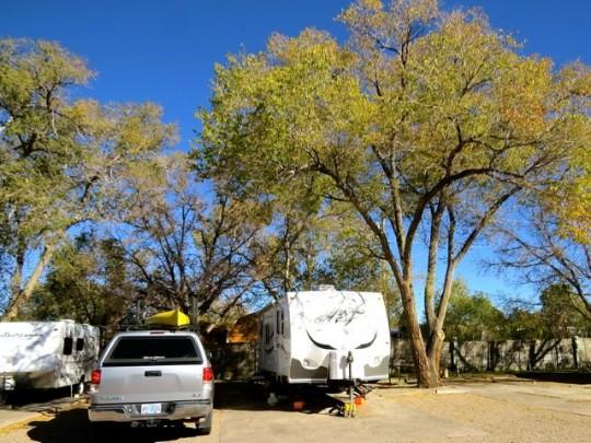 At Trailer Ranch RV Resort