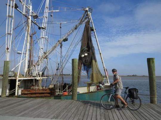 Biking Along The Waterfront