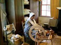 At Vermilionville, a living history museum