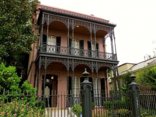 Italianate Style Mansion In The Garden District