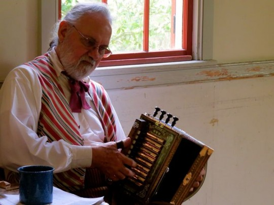 It's Not Cajun Music Without An Accordion