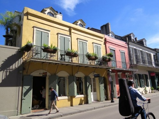 The Colorful French Quarter