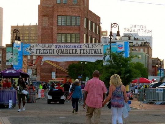 The French Quarter Festival