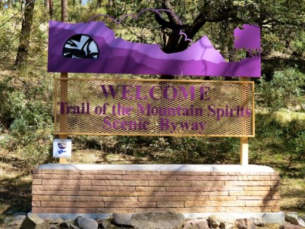 Trail of the Mountain Spirits Byway