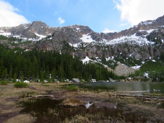Beautiful Cutthroat Lake