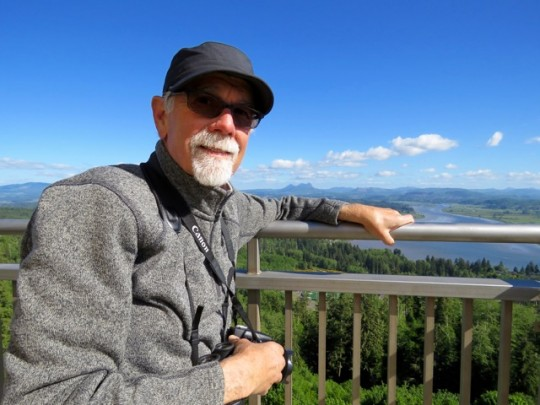 View From The Top Of The Astoria Column