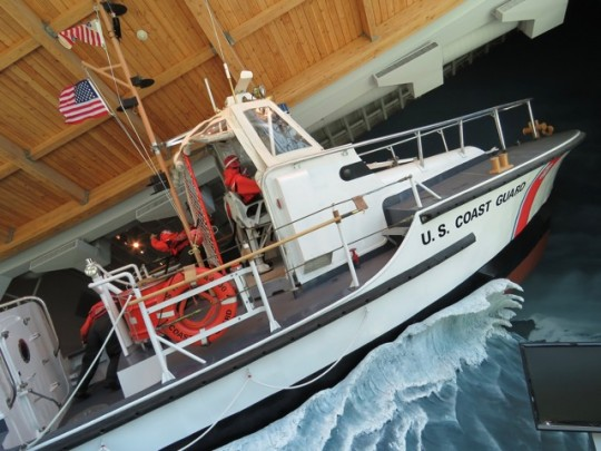 A Retired Coast Guard Rescue Boat