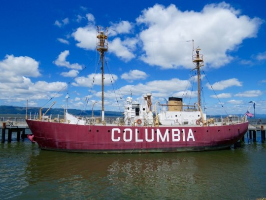 The Columbia, A Floating Lighthouse