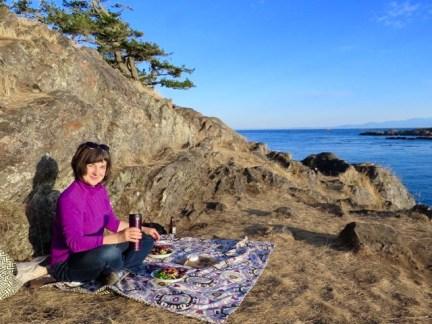 Sunset picnic at Shark Reef