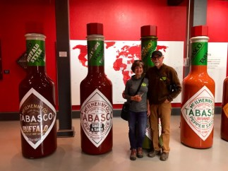 The Tabasco factory on Avery Island