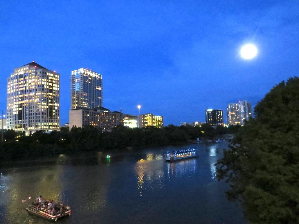 Austin, Texas by Night