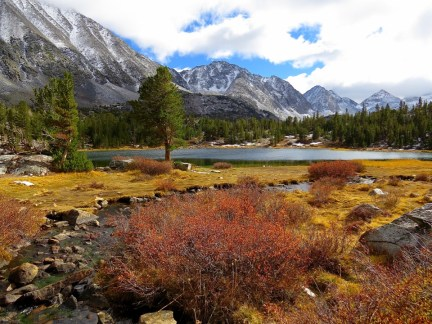 Little Lakes Valley Trail, Sierra Nevada, California