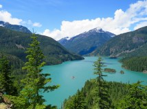 Ross Lake, Cascade National Park, Washington