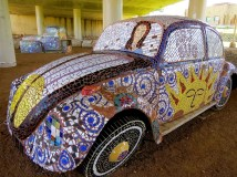 VW Mosaic Bug, San Angelo, Texas