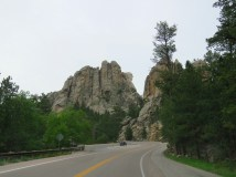 Mount Rushmore from The Needles Highway