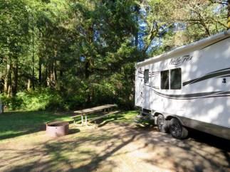 Fort Stevens State Park campground