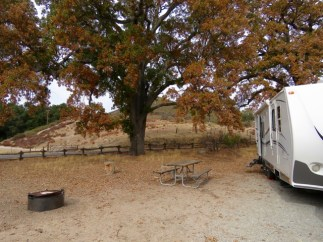 Pinnacles National Park campground